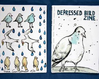 Depressed Bird Zine