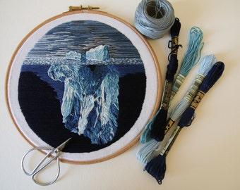 Embroidery [Iceberg] - 2