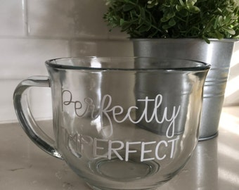 Perfectly imperfect coffee mug