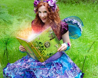 Fairytale Experience Gift ~ Surprise them with a real Faerie at their birthday party!
