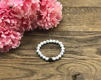 Diffuser Bracelet, Mothers Day Gift, Mothers Day Jewelry, Lava Bead Bracelet, Howlite Bracelet, Mothers Gift, Spring Bracelets Gifts For Her