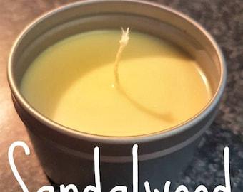Sandalwood - 6oz Candle