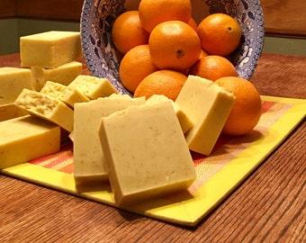 Orange Zest Natural Soap