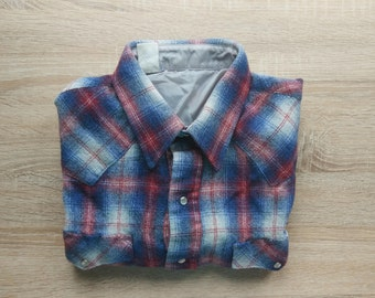 short sleeve flannel shirt