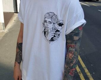 Lady rose t-shirt