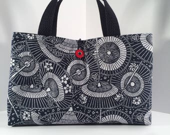 Japanese Indigo Lunch Bag