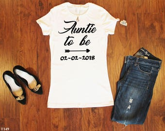 Best Auntie Ever, Auntie Shirt, Best Auntie Ever Shirt, Auntie Tshirt,Auntie Raglan 3/4,Bae Best Auntie Ever,Auntie Gift,Pregnancy Gift T149