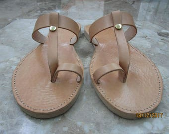 Sandals Womens,Womens Sandals,Leather Sandals ,Wedding Sandals,Greek Leather Sandals, Natural Sandals,Toe Ring Sandals, CRETA