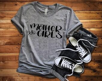 Mother of Girls Funny Shirt, Mom of Girls Shirt, Trendy Shirt for Moms, Cool Mom Shirt, Mom Gift, Wife Gift, Womens Shirts, Cute Shirts