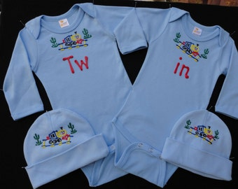 Tw in, Twin Onesie Sets, Identical Twins, Fraternal Twins, Baby Shower Gift, Baby Boy Gift, Baby Girl Gift