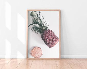 Pineapple Wall Art, Pineapple Printable, Pineapple Poster, Pineapple Art Print, Printable Wall Art, Kitchen Printable, Best Selling Items