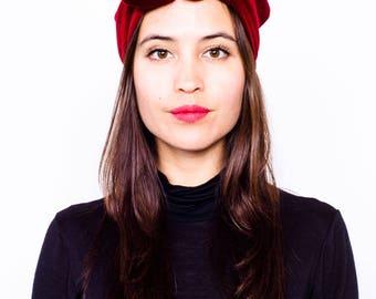 Velvet Modeling Turban Headband