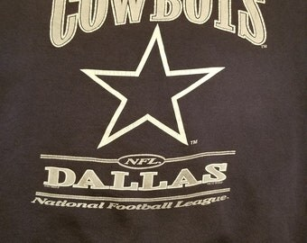 Vintage Dallas Cowboys Crewneck Sweatshirt, size XL