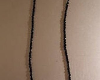 Necklace with Lava Beads