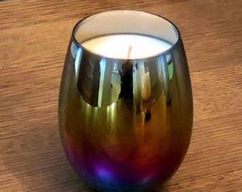 Rainbow Glow Candle