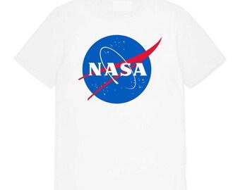 NASA Printed Logo T-shirt