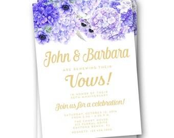 Vow Renewal Invitation, Vow Renewal Invitations, Wedding Vow Renewal, We Still Do Invitation