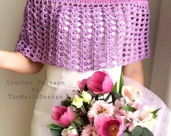 Crochet Pattern Women / Crochet Cape Pattern / Crochet Wedding Pattern / Crochet Pattern Cape / Crochet Wedding Poncho / Festival Clothing