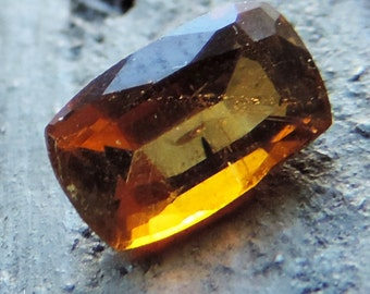 Orange Tourmaline (1ct) from Taïta Kenya.