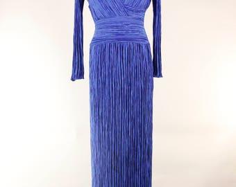 MARY McFADDEN Classic Column  Gown
