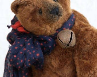 "Artist teddy bear ""Rupprecht ""  37  cm   animals-stuffed- bear-interior toy-personalized teddy bear"