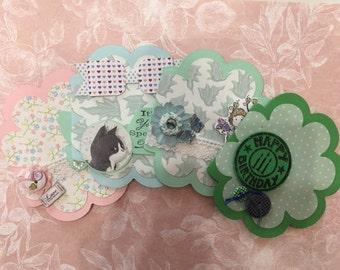 Set no. 4 handmade mixed gift greeting cards
