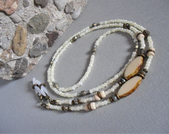 Bohemian Beaded Eyeglasses Chain ∫ Fashion Forward Eyewear Chains Holders ∫ Reading Glass Eyeglass Lanyard ∫ Sunglasses Loop Accessory