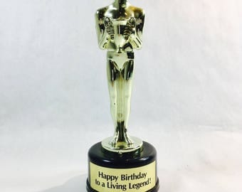 Generic Trophy Vintage Birthday Gift Happy Birthday to a Living Legend Person Man Woman Who Has Everything Gift