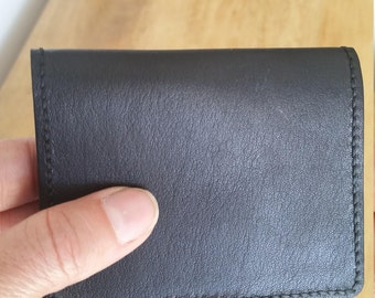 Kangaroo Leather Wallet, Minimalist Style