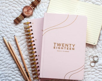 2018 Weekly Planner | Blush - Weekly To do - 2018 Planner - Weekly Planner - Weekly Diary - Stationery - To Do list planner