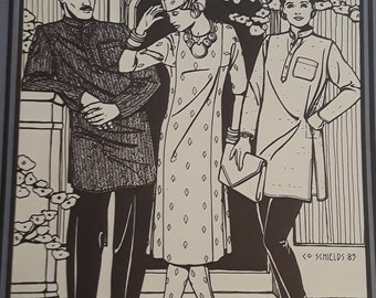 FOLKWEAR 135 Jewels of India 6-8-10-12-14-16 (1980's)