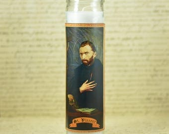 Saint Vincent Van Gogh Prayer Candle - Gift for Artist - Van Gogh Worship - Classic Art Lover - Impressionist Candle