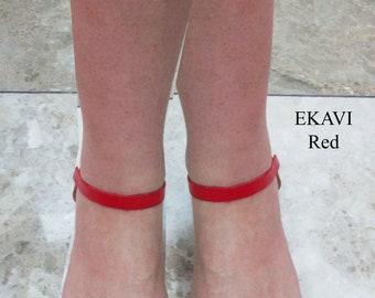 Red Sandals, Ancient Greek Leather Sandals,sandals, sandales grecques,Sandals Wedding Dresses, wedding shoes, Handmade Sandals, EKAVI