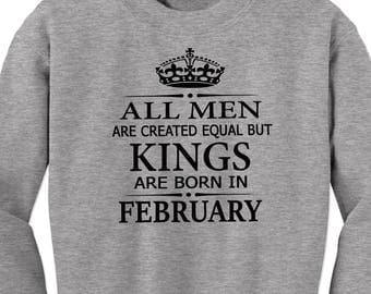 Birthday shirt, gift for him, custom gift, graphic tees, gift for boyfriend, gift for men, men shirt, king shirt, macho, gift for husband