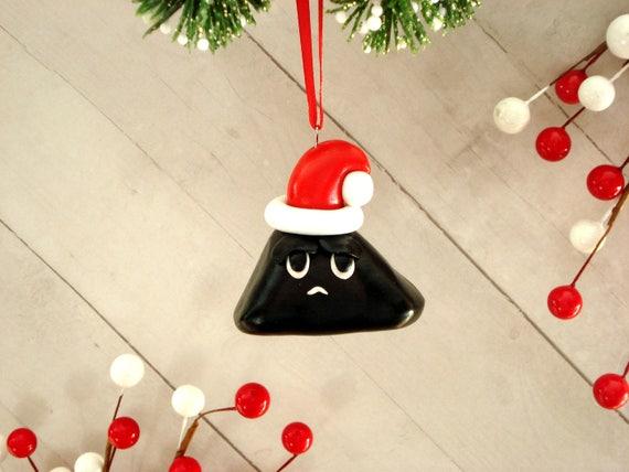 Lump of Coal Christmas Ornament Gag Gift Christmas Coal