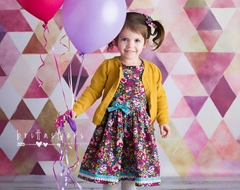 Fall Dresses Girls, Girls Fall Dress, Girls Dresses, Burgundy Dress, Floral Dress, Girls Floral Dress, Fall Dress, Special Occasion
