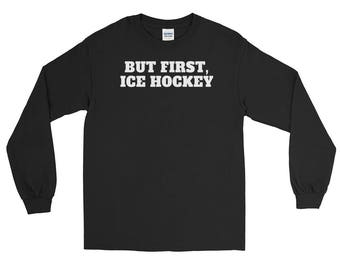Ice Hockey Olympics Winter Games 2018 Team USA Long Sleeve T-Shirt