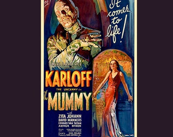 The Mummy 1932 Film, Movie Poster Many Sizes Available