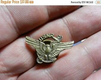 Summer Sale Vintage WW2 US Navy Reserve Discharge Pin