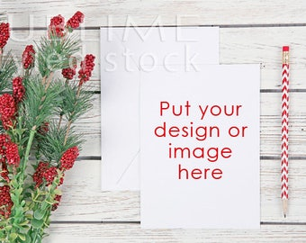 Card Mock up / Styled Stock Photography / Stationery / Mock up / Card and envelope / Blank Card / Blank Envelope / StockStyle-892