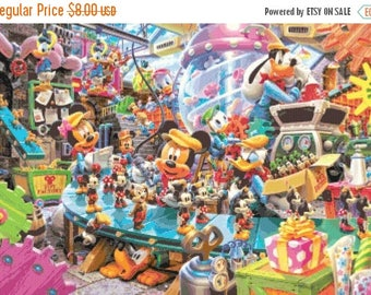 "disney toys Counted Cross Stitch disney toys Pattern modern cross stitch needlepoint needlework chart -25.57"" x 17.71""- L960"