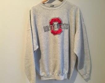 Ohio State University Vintage Sweatshirt