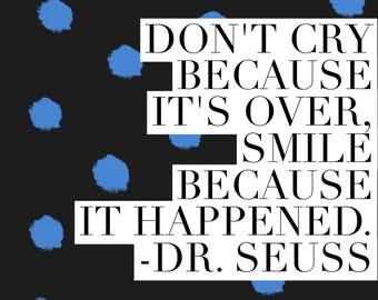 Quote magnet- Dr. Seuss