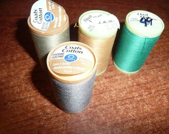 Hand & Machine Quilting Threads Assorted Colors
