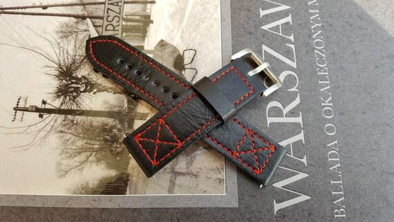 Genuine Leather - Handmade Watch Strap 05