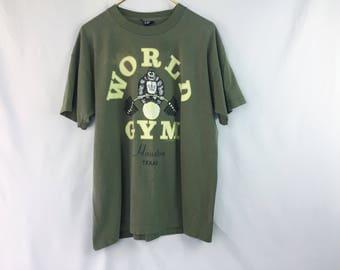 Vintage World Gym gorilla shirt 20EUQ