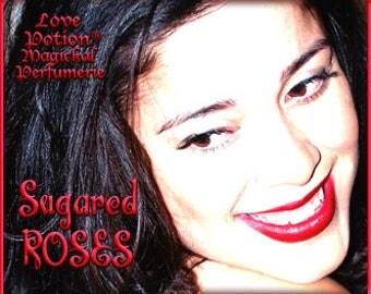 Sugared Roses - Layerable Perfume - Love Potion Magickal Perfumerie
