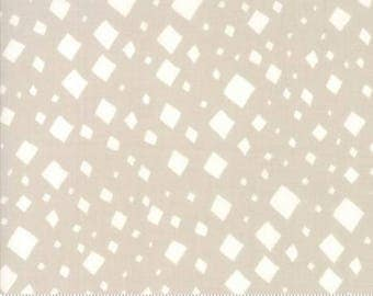 SALE!! 1 Yard Savannah by Gingiber for Moda- 48223-13 Diamonds Stone