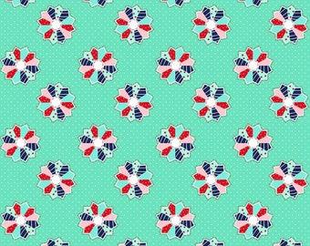 1 Yard A Little Sweetness by Tasha Noel for Riley Blake Designs- 6513 Mint  Sweetness Dresden