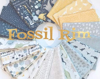 Bundle Fossil Rim by Deena Rutter  for Riley Blake Designs-19 Fabrics